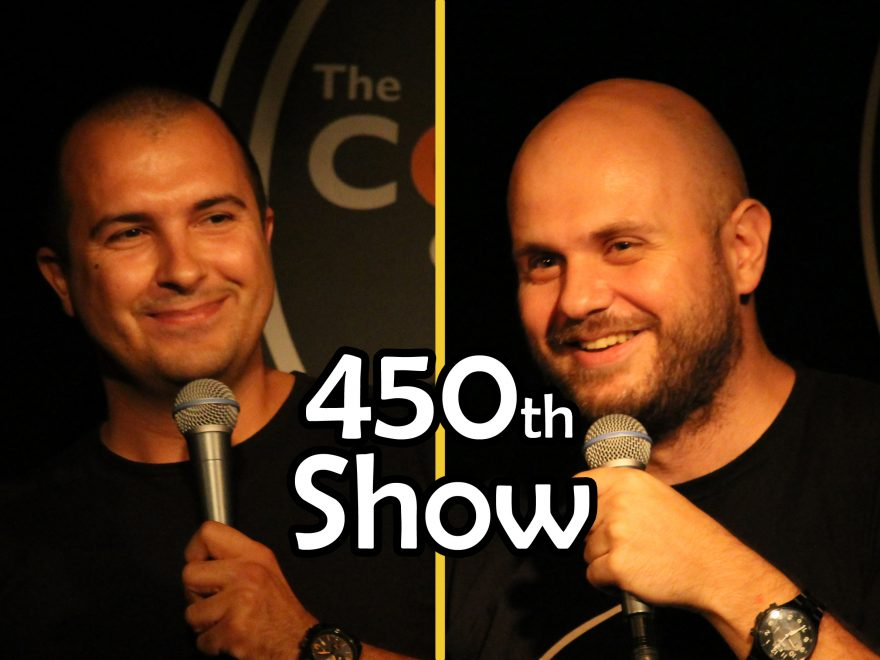 stand-up comedy Sofia Bulgaria 450 shows